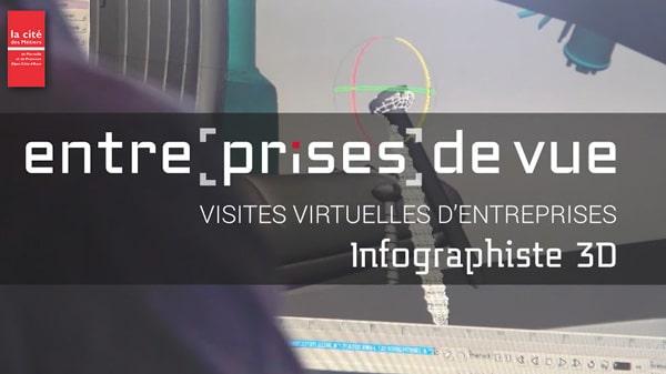 Entre[prises] de vue - Infographiste 3D