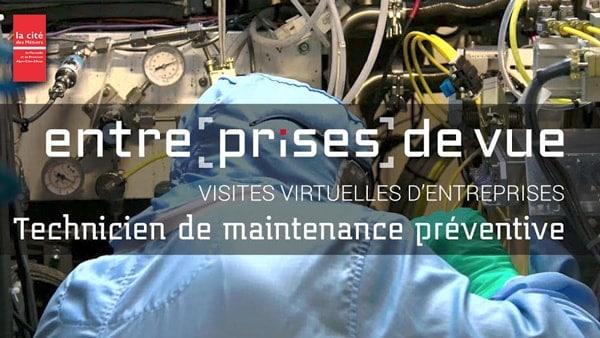 Entre[prises] de vue - Technicien de maintenance