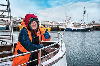 Pêche et reprise d'entreprise