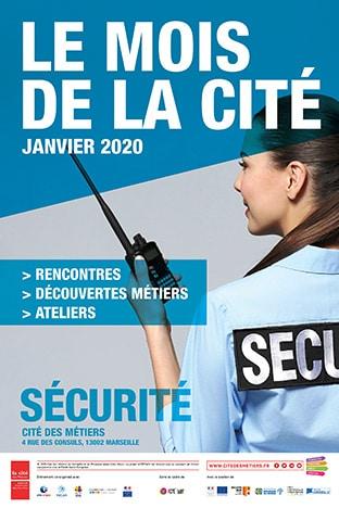 L'affiche du mois de la sécurité