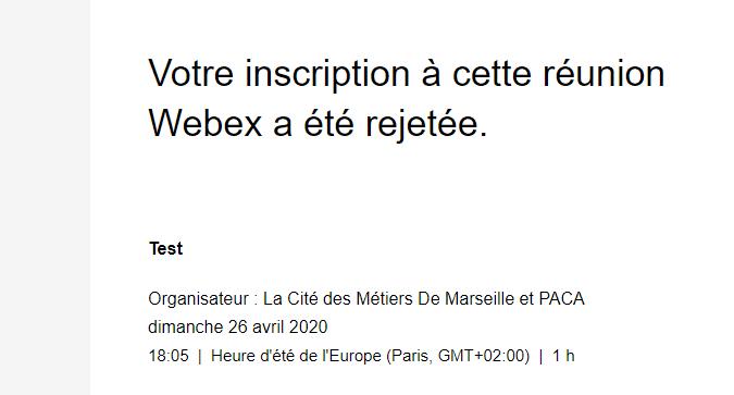 WebEx-InscriptionRejetee