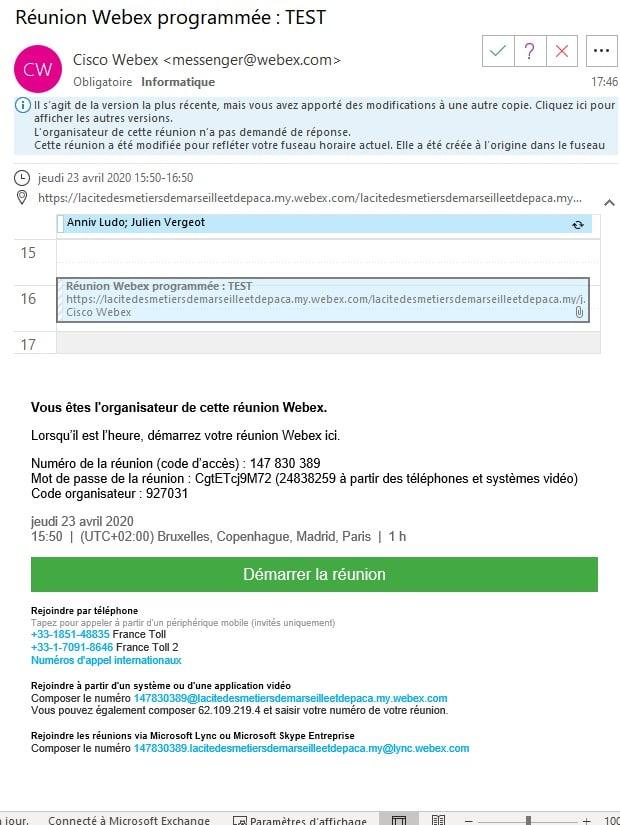 WebEx-InvitationOrganisateur